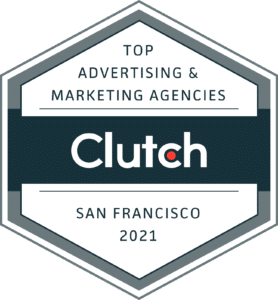 10 Plus Brand, Inc. is recognized as a leading advertising and digital marketing agency in San Francisco, 2021, by Clutch.